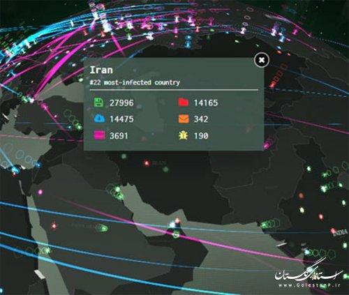 سرویس شگفتانگیز برای رصد تهدیدات سایبری در تمام دنیا