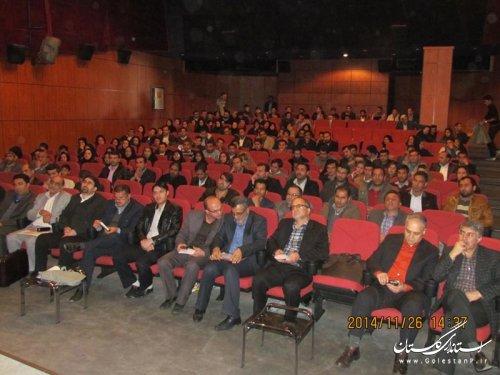 همایش آشنایی با رشته های تحصیلی مرکز علمی و کاربردی مخابرات استان گلستان برگزار شد.
