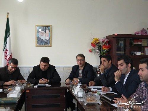 جلسه مشترک کمیته فناوری اطلاعات استان وکمیته فنی فرمانداری گالیکش