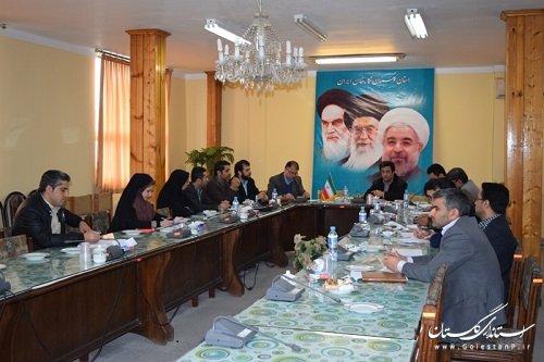 جلسه مشترک کمیته فناوری اطلاعات استان وکمیته فنی فرمانداری کردکوی