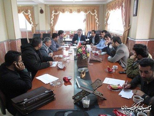 جلسه مشترک کمیته فناوری اطلاعات استان وکمیته فنی فرمانداری بندرترکمن