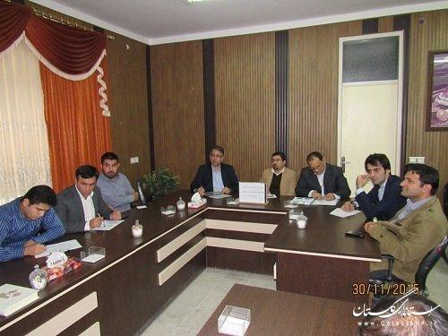 جلسه مشترک کمیته فناوری اطلاعات استان وکمیته فنی فرمانداری گمیشان