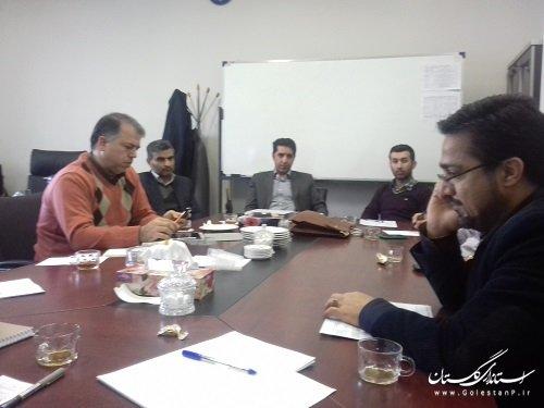 بیست وهشتمین جلسه کمیته فناوری اطلاعات ذیل ستاد انتخابات استان