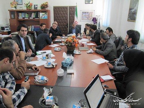 جلسه مشترک کمیته فناوری اطلاعات استان وکمیته فنی فرمانداری بندرگز