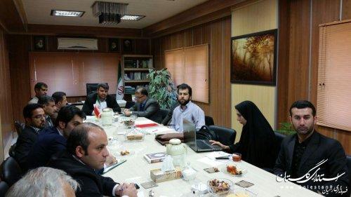 جلسه مشترک کمیته فناوری اطلاعات استان وکمیته فنی فرمانداری رامیان