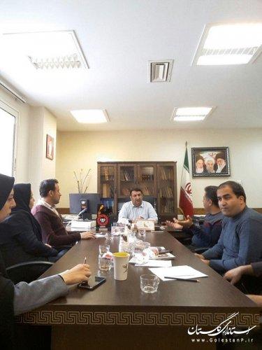 اولین جلسه کمیته فناوری  دوازدهمین دوره انتخابات ریاست جمهوری اسلامی و پنجمین دوره انتخابات شورای اسلامی شهر وروستا