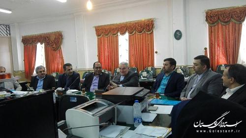 بازدید استاندار از ستادانتخابات شهرستان علی آباد