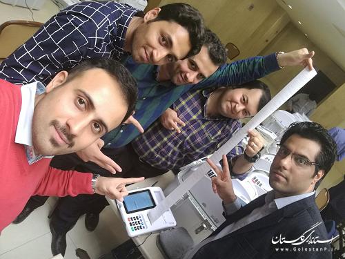 استان گلستان گروه اول تجمیع آرا در کلاس های آموزشی انتخابات ستادانتخابات وزارت کشور