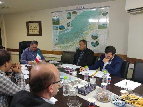 برگزاری جلسه بررسی واگذاری خدمات شرکت توزیع نیروی برق به دفاتر پیشخوان