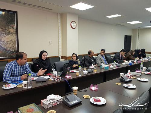 برگزاری جلسه معرفی فرمهای الکترونیکی نمودن فرایند رسیدگی به تخلفات دفاتر پیشخوان