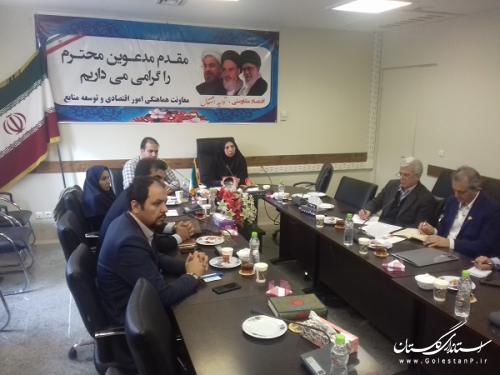 برگزاری جلسه هماهنگی جهت حضور با نکها وارائه خدمات الکترونیکی در نمایشگاه الکامپ استان