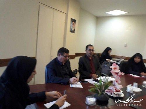 برگزاری جلسه برونسپاری خدمت عوارض خودرو شهرداری گرگان