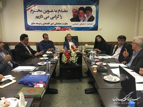 تشکیل جلسه هماهنگی جهت برگزاری هشتمین  نمایشگاه الکامپ استان