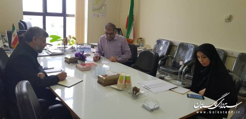 اولین نشست مشترک حراست استانداری و مدیریت فناوری اطلاعات و شبکه دولت درسال 98