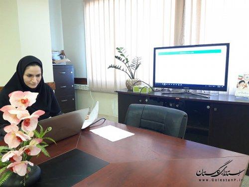 برگزاری جلسه آموزشی سامانه سجاد جهت ثبت اطلاعات سیل زدگان استان