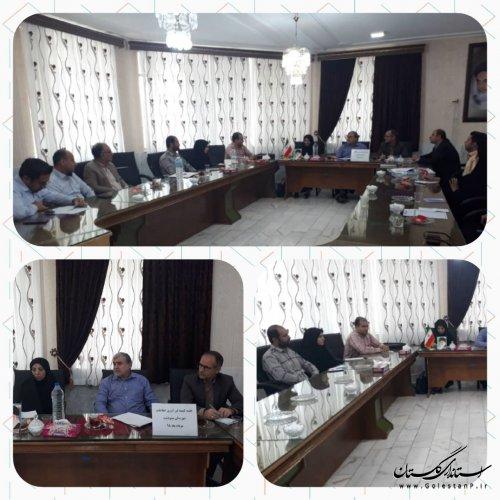 دومین جلسه کمیته فناوری اطلاعات ستاد انتخابات استان