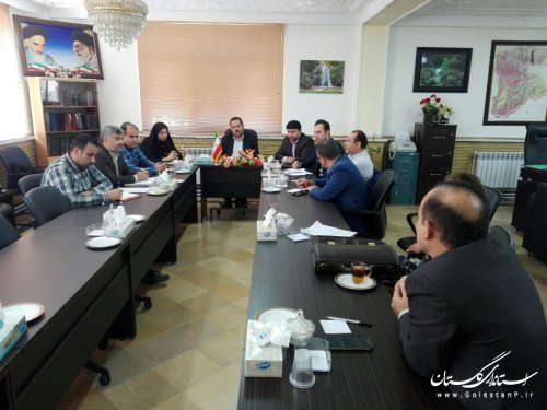 سومین جلسه کمیته فناوری اطلاعات ستاد انتخابات استان