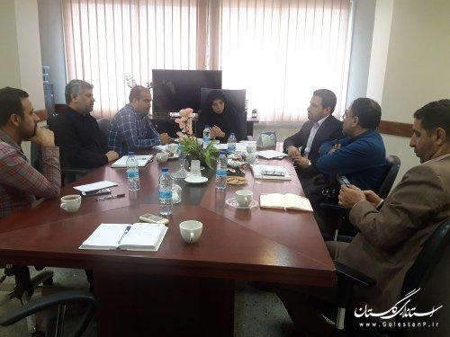 ششمین جلسه کمیته فناوری اطلاعات ستاد انتخابات استان سال 1398