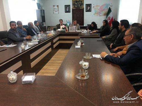 هشتمین جلسه کمیته فناوری اطلاعات ستاد انتخابات استان سال 1398
