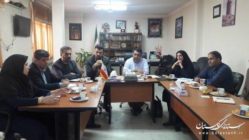دهمین جلسه کمیته فناوری اطلاعات ستاد انتخابات استان - شهرستان کردکوی
