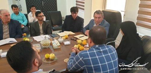 سیزدهمین جلسه کمیته فناوری اطلاعات ستاد انتخابات استان - شهرستان مراوه تپه