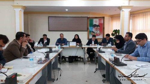 نوزدهمین جلسه کمیته فناوری اطلاعات ستاد انتخابات استان - شهرستان کلاله