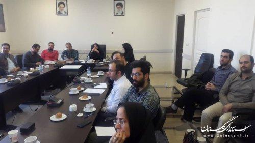 جلسه آموزسی سربرگ جدید اتوماسیون اداری فرزین- نیروهای فناوری اطلاعات