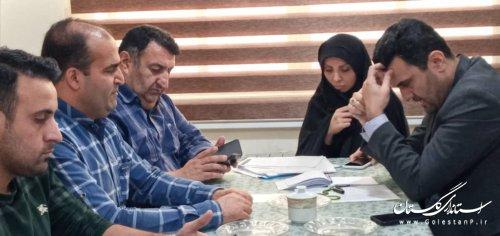 بیست و ششمین جلسه کمیته فناوری اطلاعات ستاد انتخابات استان- شهرستان کردکوی