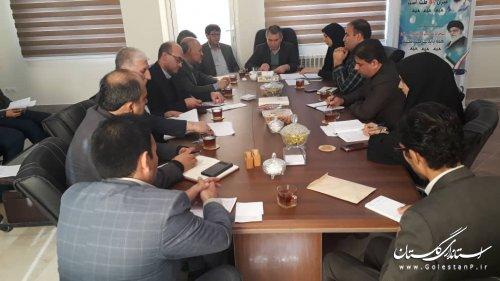 بیست و هشتمین جلسه کمیته فناوری اطلاعات ستاد انتخابات استان- شهرستان مراوه تپه