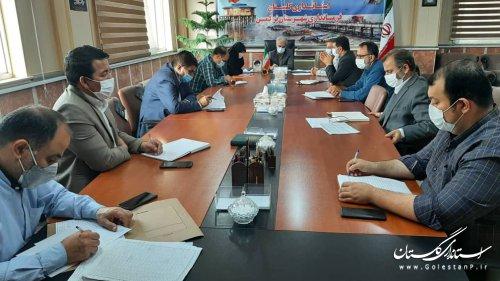 اولین جلسه کمیته فناوری اطلاعات ستاد انتخابات استان سال 1400- شهرستان ترکمن