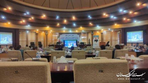 اولین جلسه آموزشی انتخابات نیمه مکانیزه خرداد ماه سال 1400
